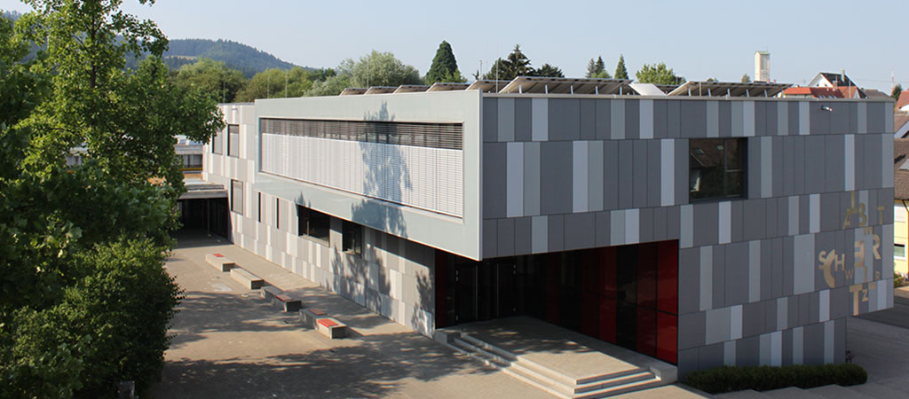 Das Albert-Schweitzer-Gymnasium in Gundelfingen